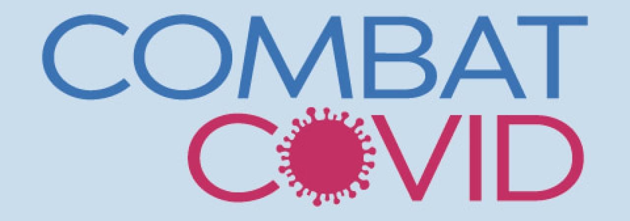 Combat Covid logo