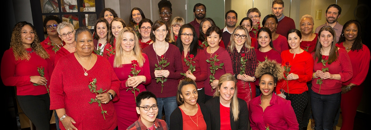Wear Red Day at IQ Solutions