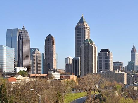 Atlanta, GA skyline.
