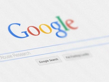 A screenshot of Google's homepage.