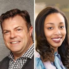 Robert Carroll and Alexis Hall